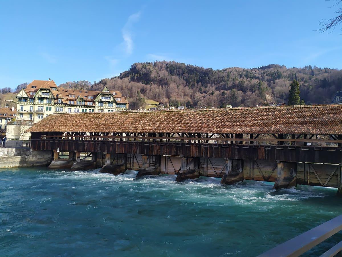 Dřevěný most, který jen tak někde neuvidíte