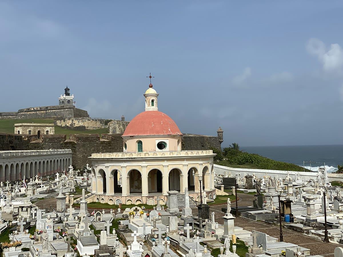 Hřbitov pojmenovaný podle svaté Marie Magdaleny de Pazzi