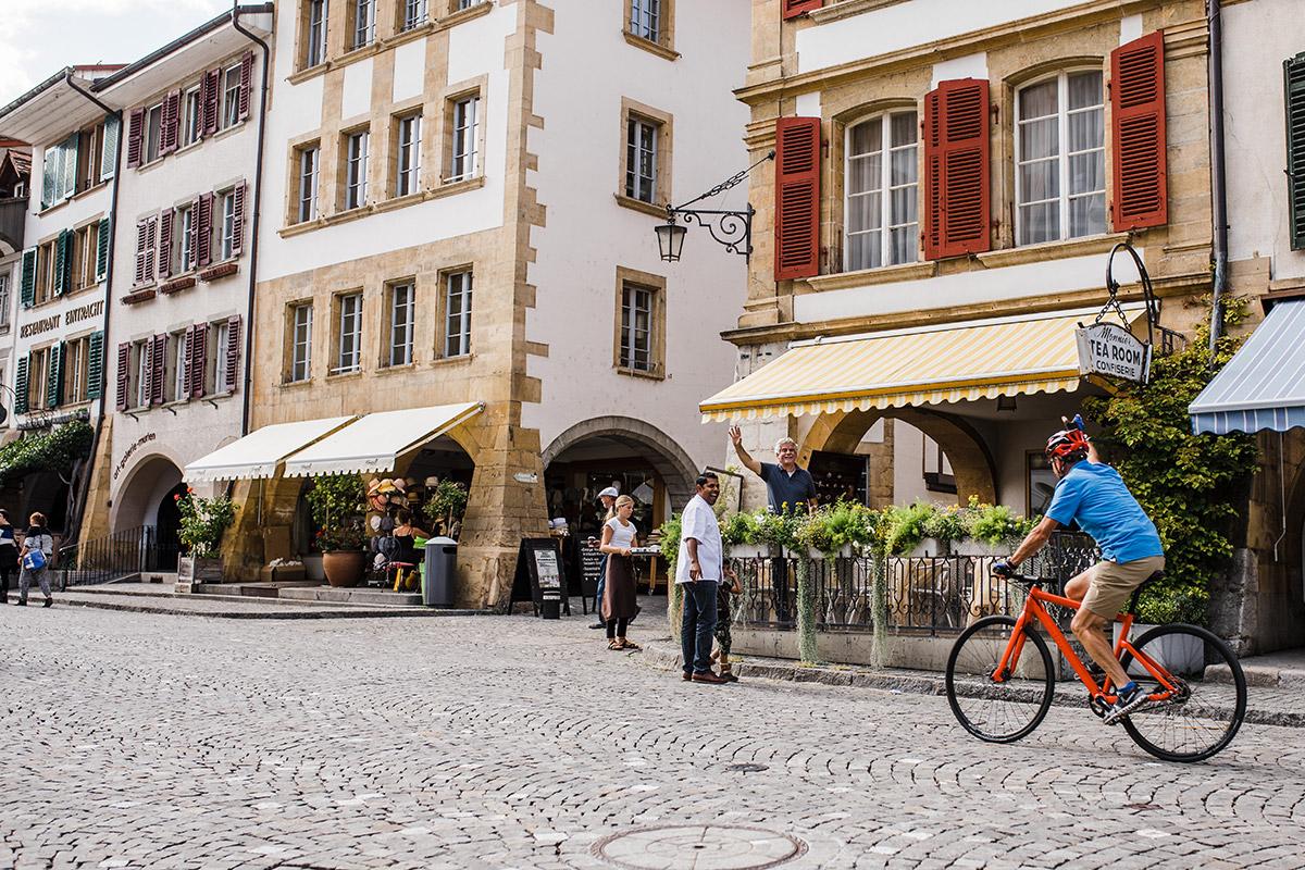 Městečko Murten / © Switzerland Tourism