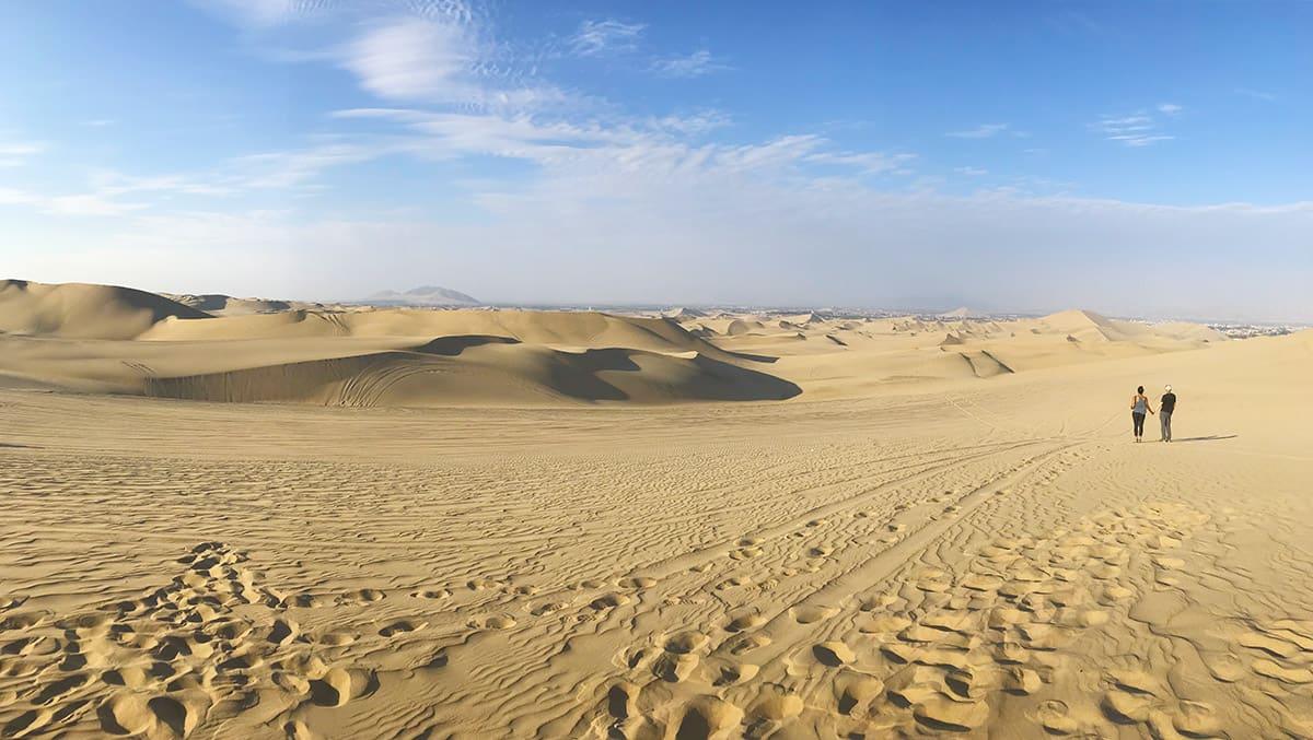 Sami v poušti... v Peru!