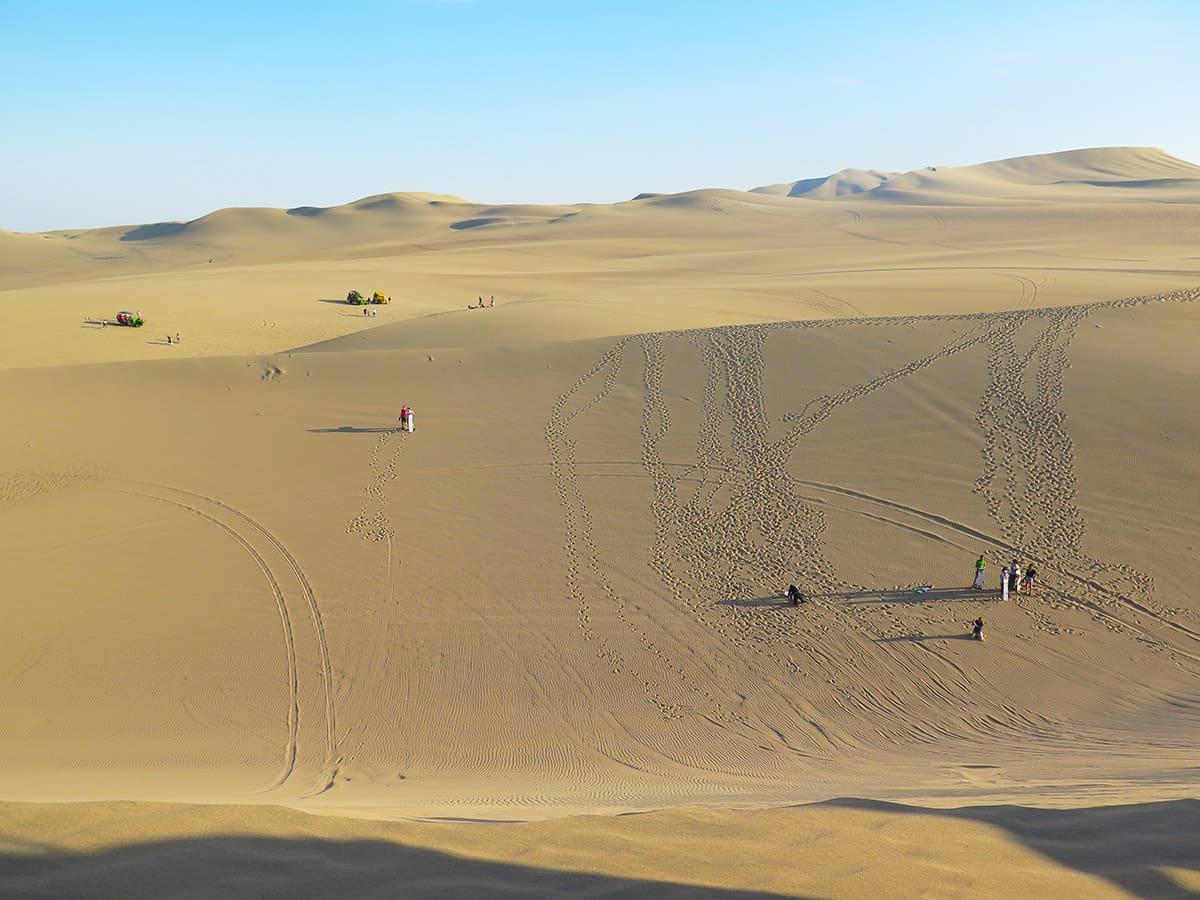 Sandboarding v dunách