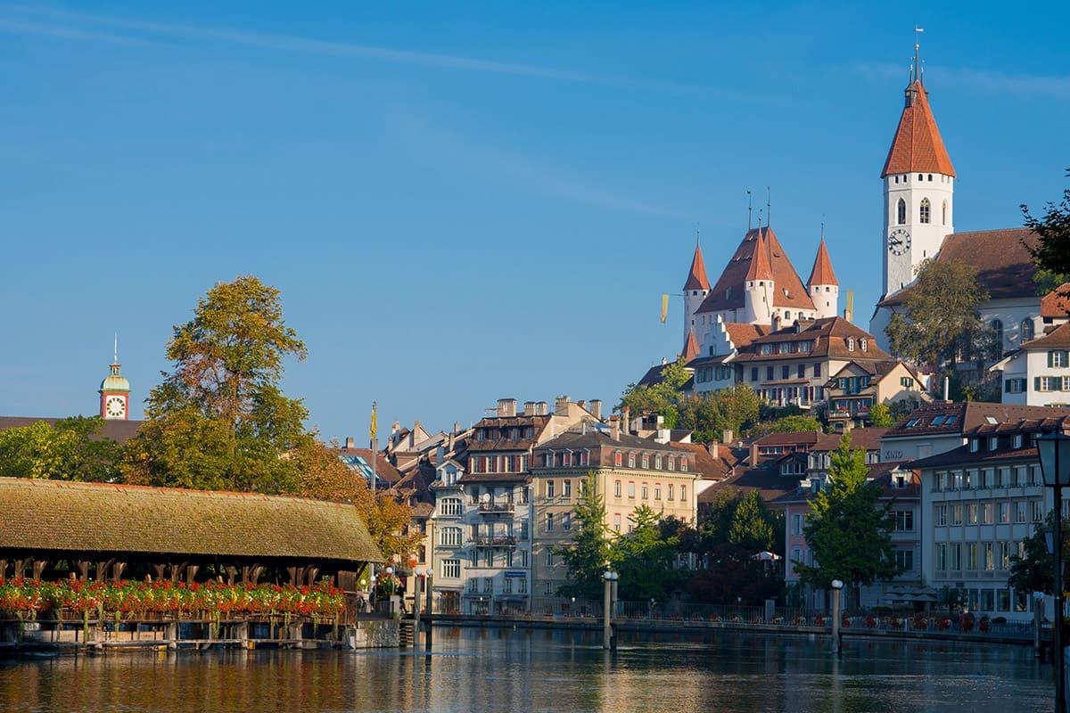 Historické město Thun