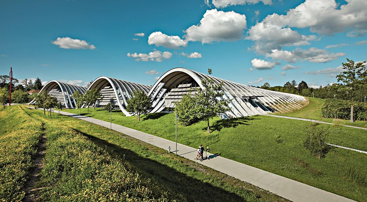 Zentrum Paul Klee v Bernu