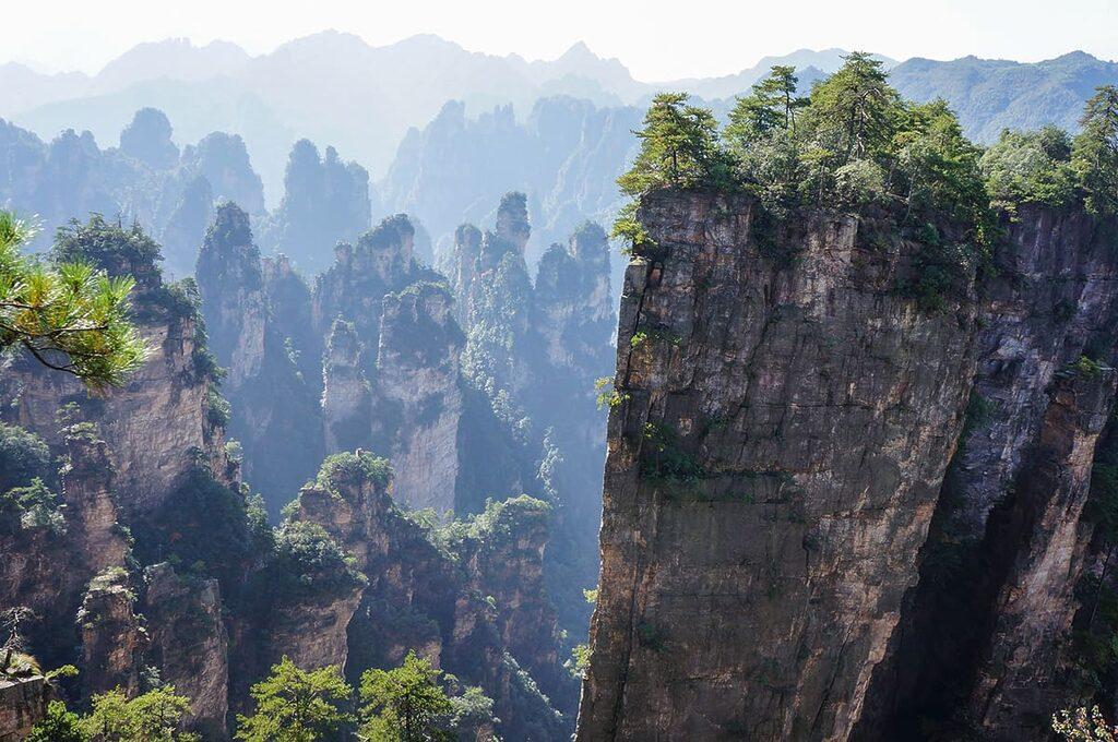 Zhangjiajie - 5 míst v Číně, která stojí za vidění