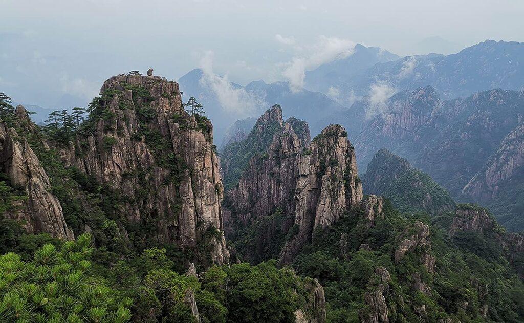 Huangshan - 5 míst v Číně, která stojí za vidění