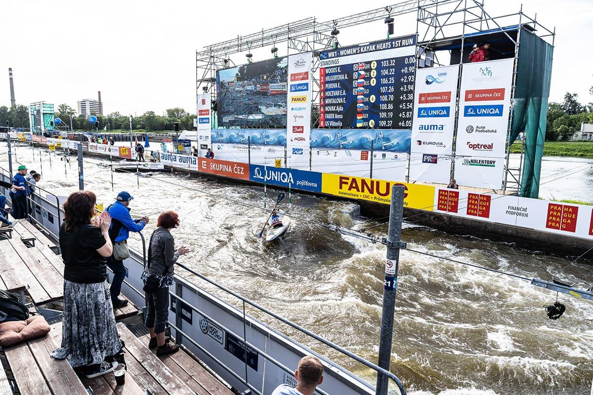 Závod se bude konat na trojské slalomové dráze