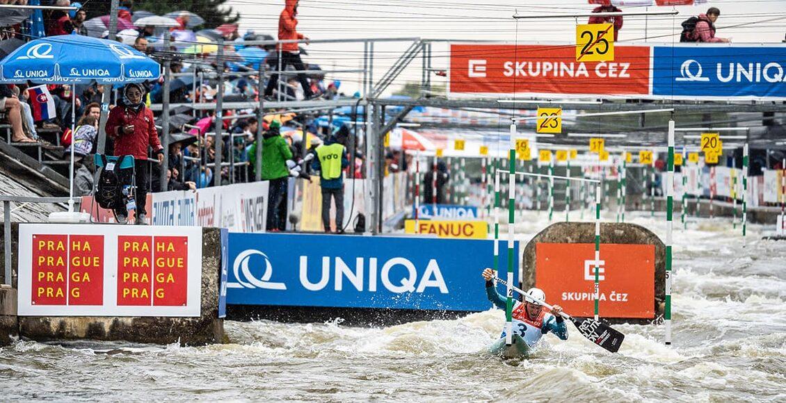 Sezóna vodních slalomářů